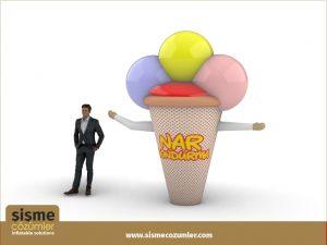Gel Gel Balon Dondurma Adam