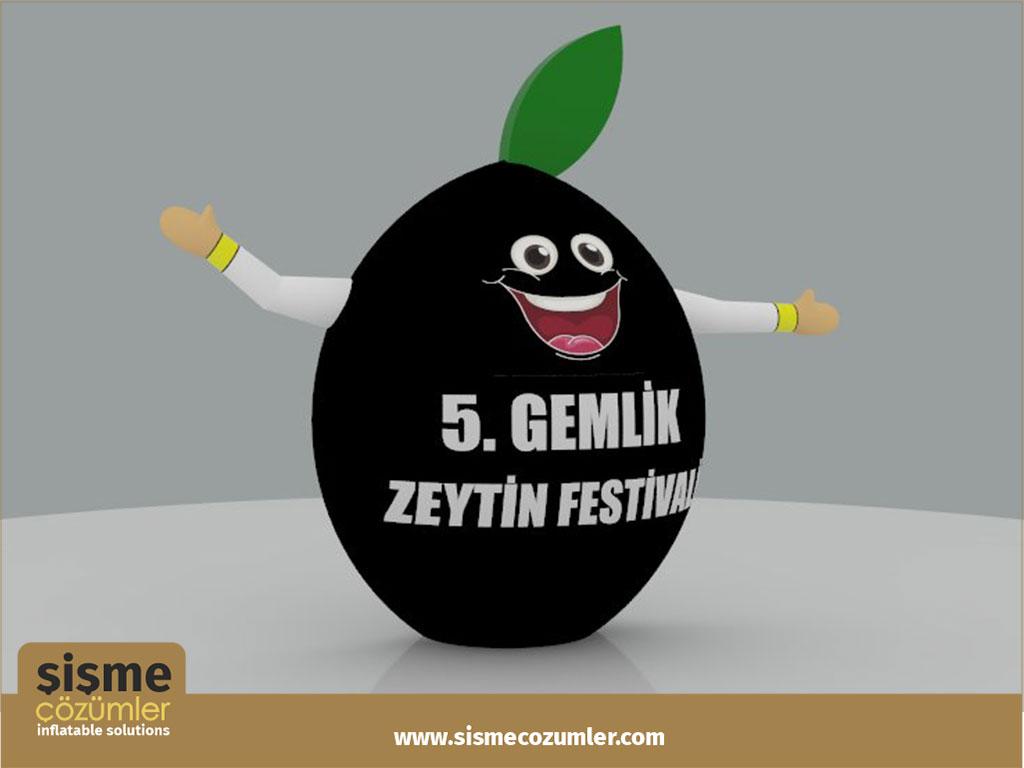 Gel Gel Zeytin Reklam Balonu
