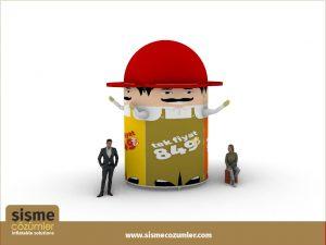 Gel Gel Dev Reklam BalonuGel Gel Dev Reklam Balonu
