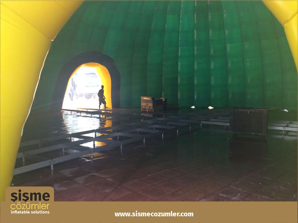 Şişme Reklam Çadırı Turkcell
