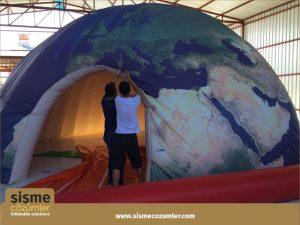 Şişme Dome Çadır -2