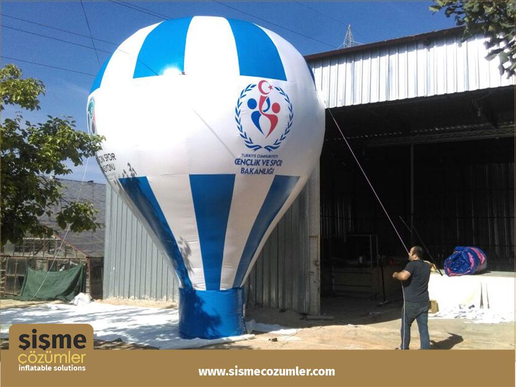 Şişme Reklam Balonu 3