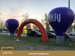 Şişme Reklam Balonu 10