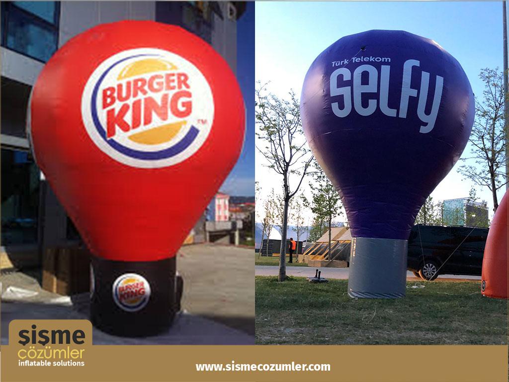 Şişme Reklam Balonu 11