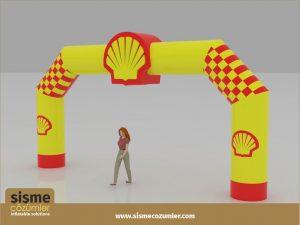 Şişme Yol Takı Shell